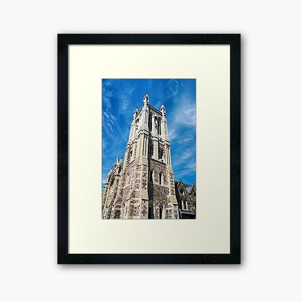 """City of Churches"" Framed Art Print"