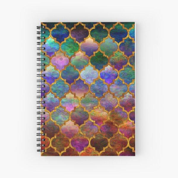 Arabic moroccan mosaic pattern Spiral Notebook