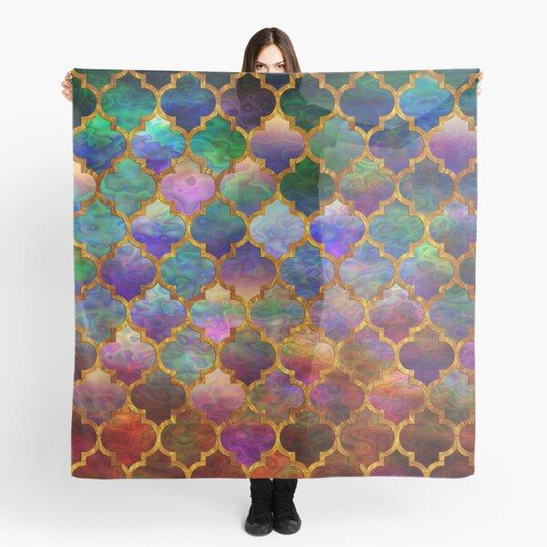 Arabic moroccan mosaic pattern Scarf