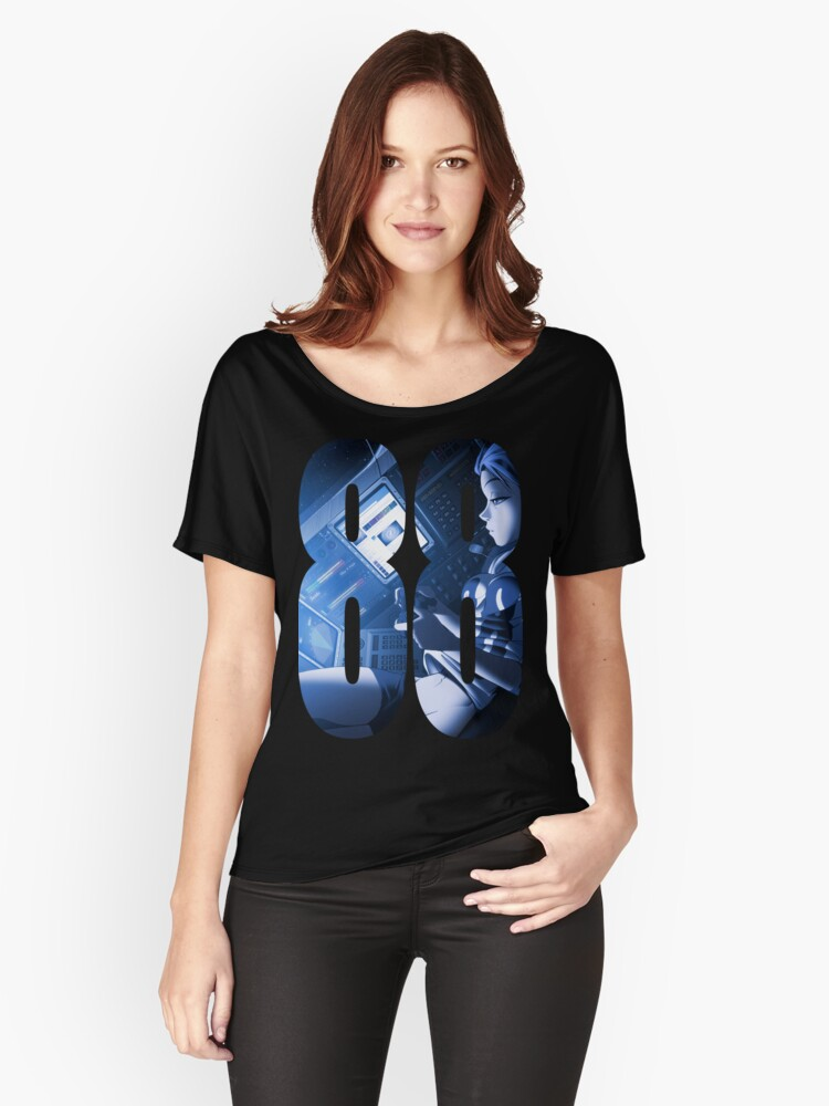 88 space out Women's Relaxed Fit T-Shirt Front