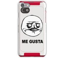 Me Gusta face MEME iPhone Case/Skin