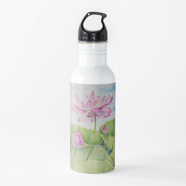 Reach Up Lotus Water Bottle