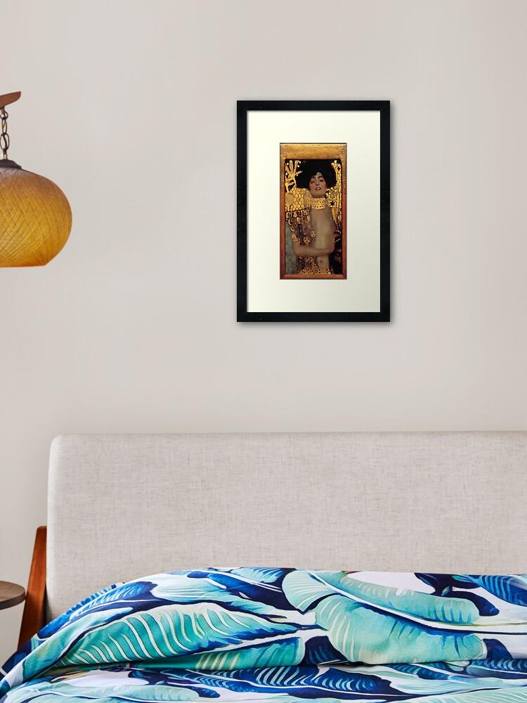 Gustav Klimt Drawings Reclining Nude Facing Right Fine Art Print