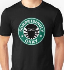Sherlock's Coffee (Surprisingly Okay) T-Shirt