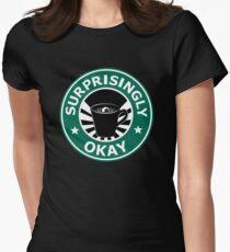 Sherlock's Coffee (Surprisingly Okay) Women's Fitted T-Shirt
