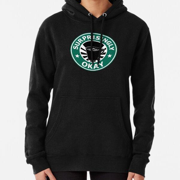 Sherlock's Coffee (Surprisingly Okay) Pullover Hoodie