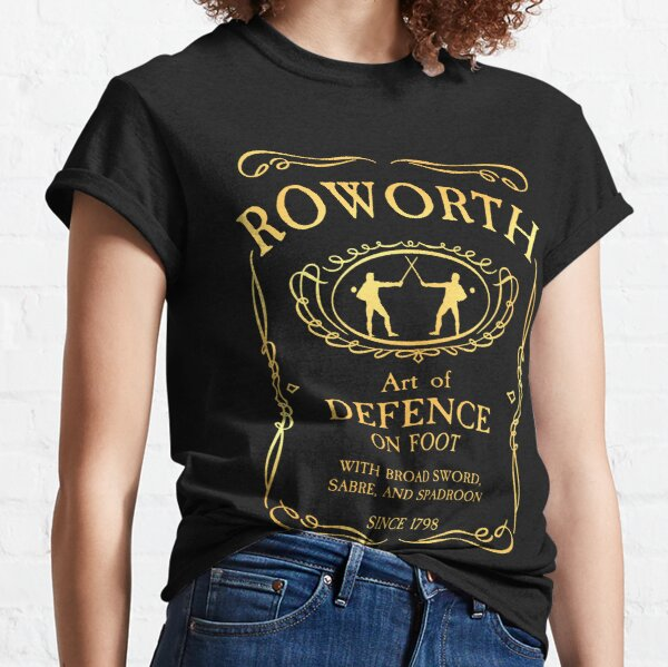 Roworth - Art of Defence since 1798 Classic T-Shirt Gold Classic T-Shirt