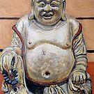 Happy Buddha by Tom Roderick