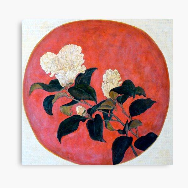 Asian Floral Canvas Print