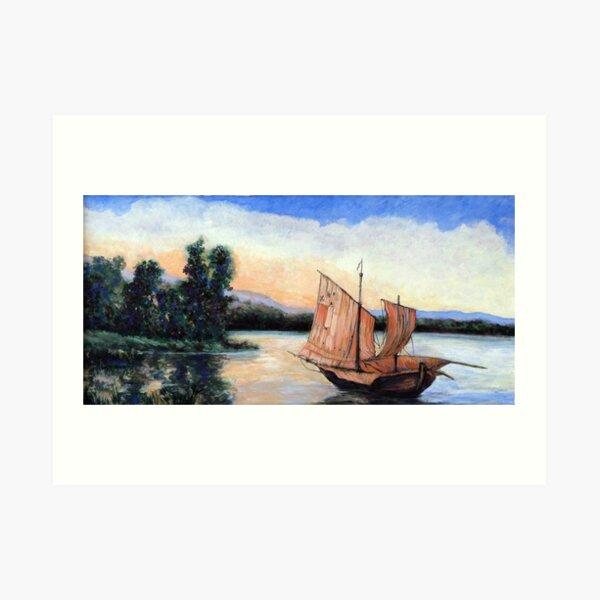 Setting Our Sails Art Print