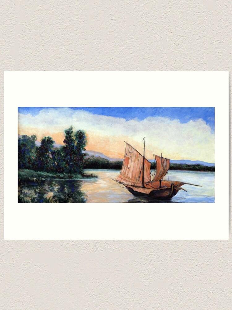 Alternate view of Setting Our Sails Art Print
