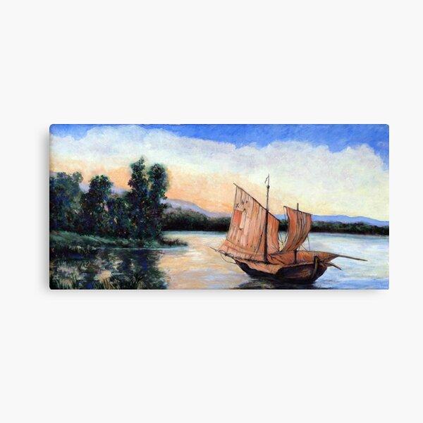 Setting Our Sails Canvas Print