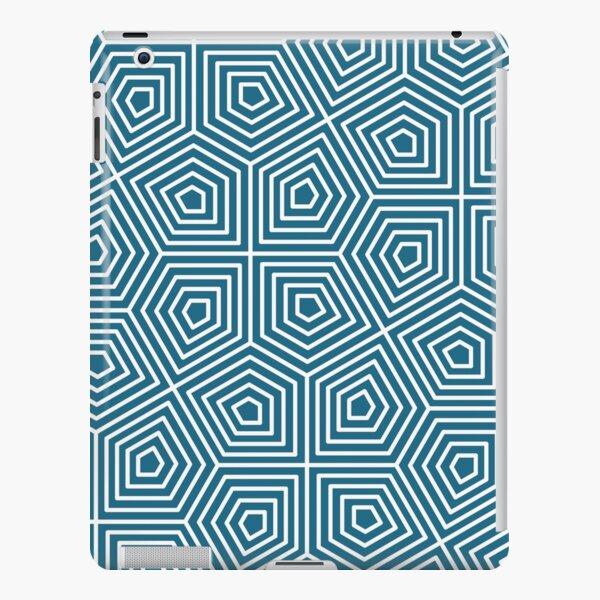 Cairo Pentagonal Tiling Blue White iPad Snap Case