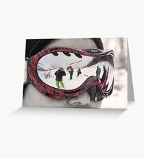 Reflections of a Great Day Greeting Card