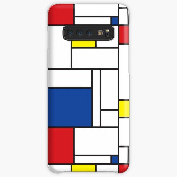 Mondrian Minimalist De Stijl Modern Art II © fatfatin Samsung Galaxy Snap Case