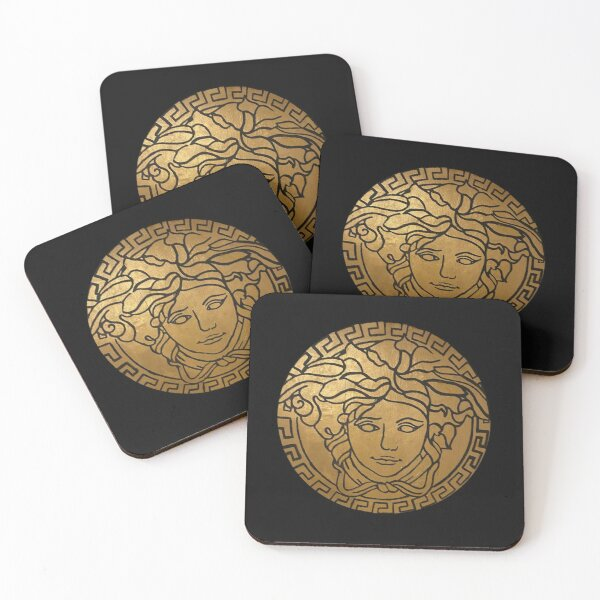 Versace Gold  Coasters (Set of 4)
