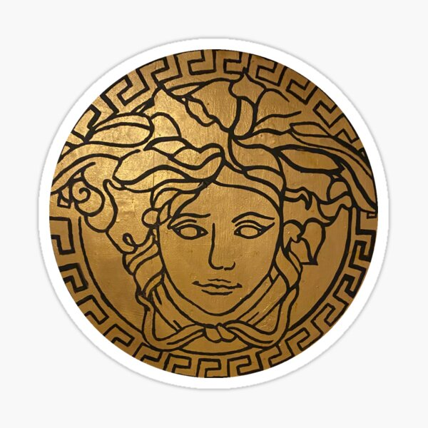Versace Gold  Sticker