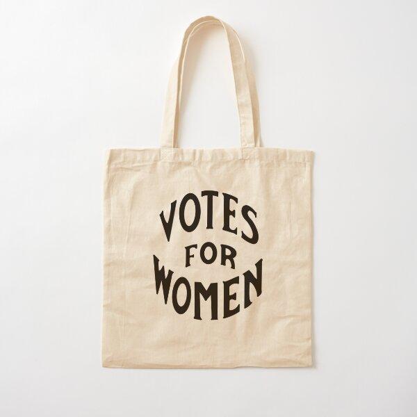 Votes pour les femmes Logo Vintage Tote bag classique