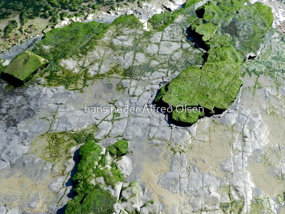Created in rock by hans peðer alfreð olsen