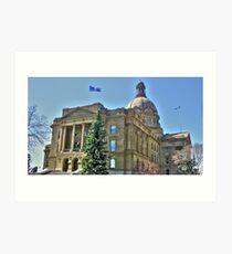Alberta's Legislature Art Print