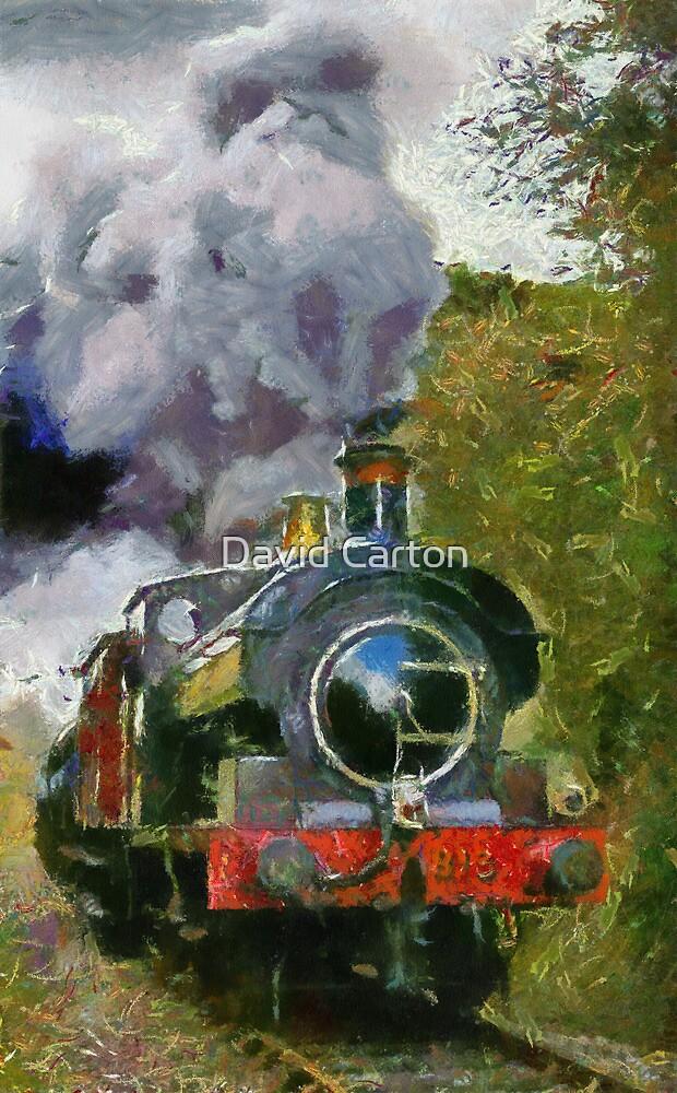 Locomotive à vapeur  by David Carton