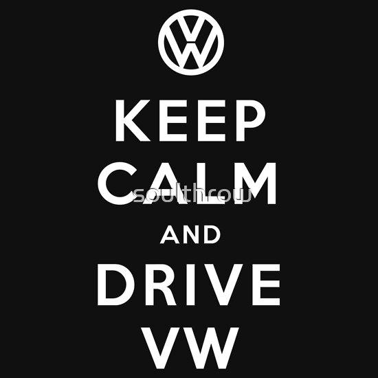 TShirtGifter presents: Keep Calm and Drive VW (Version 01)
