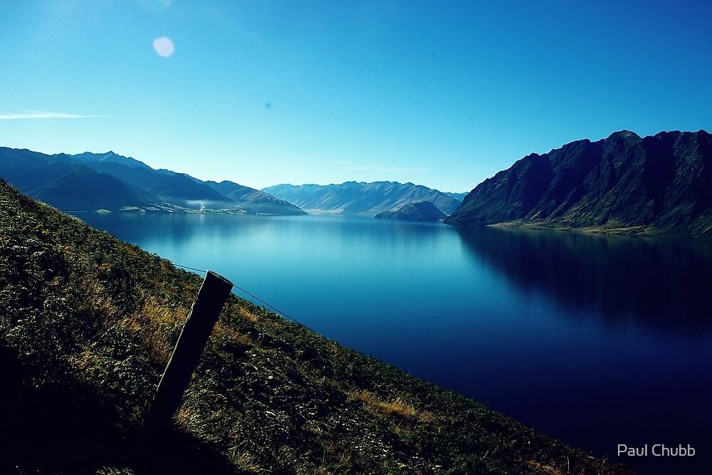 Lake near Franz Josef Glacier by Paul Chubb