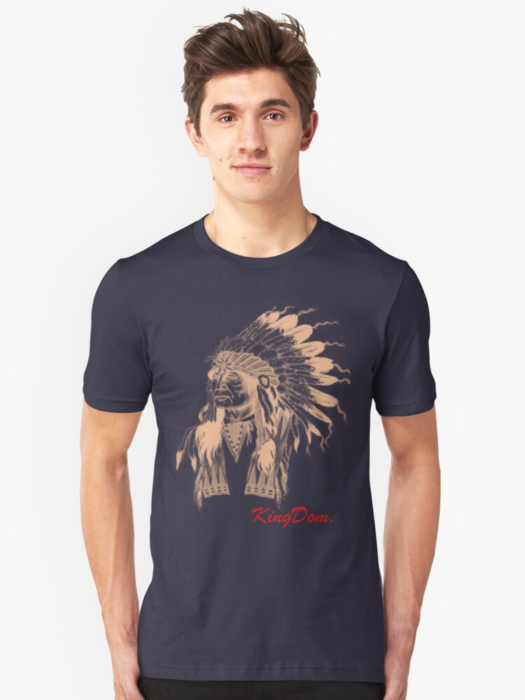 KingDom Indian Head Unisex T-Shirt Front