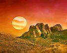 Western Luna by Arla M. Ruggles