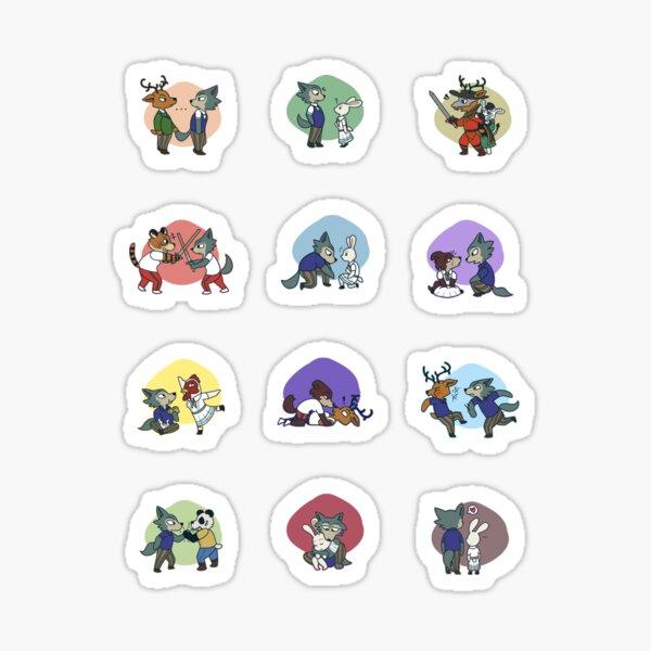 BEASTARS Season 1 Scenes Sticker