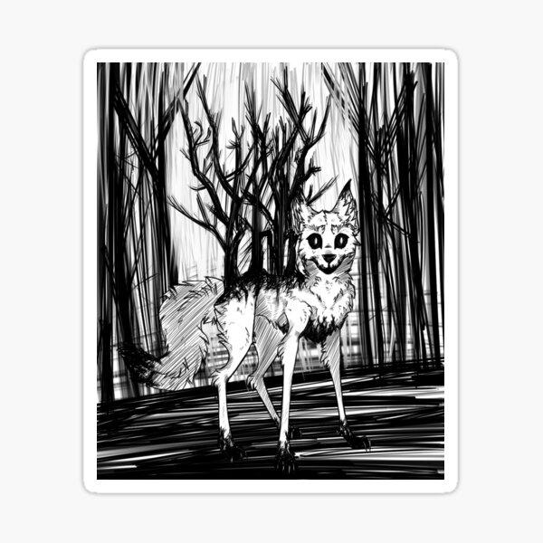 Burdens in the Woods Sticker
