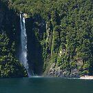 Stirling Falls, Milford Sound by PhotosByG