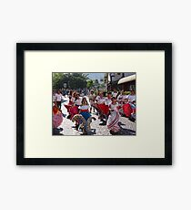 History, Tradition and Culture - this is Mexico - Historia, tradicion y cultura - este es Mexico Framed Print