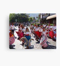 History, Tradition and Culture - this is Mexico - Historia, tradicion y cultura - este es Mexico Canvas Print