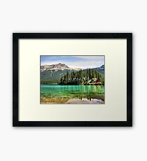 My Island in Serenity Framed Print