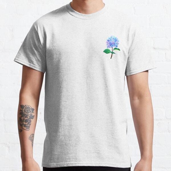 blue purple hydrangea flower  Classic T-Shirt