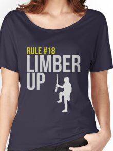 Zombie Survival Guide - Rule #18 - Limber Up Women's Relaxed Fit T-Shirt