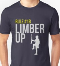 Zombie Survival Guide - Rule #18 - Limber Up T-Shirt