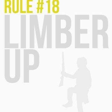 Zombie Survival Guide - Rule #18 - Limber Up von AlexNoir