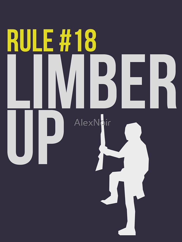 Zombie Survival Guide - Rule #18 - Limber Up | Unisex T-Shirt