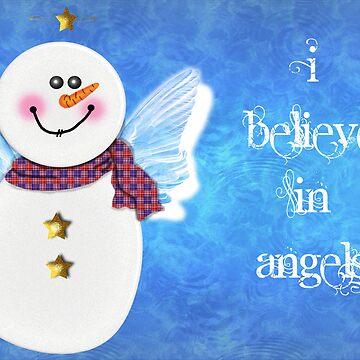 Snow Angel by tapiona