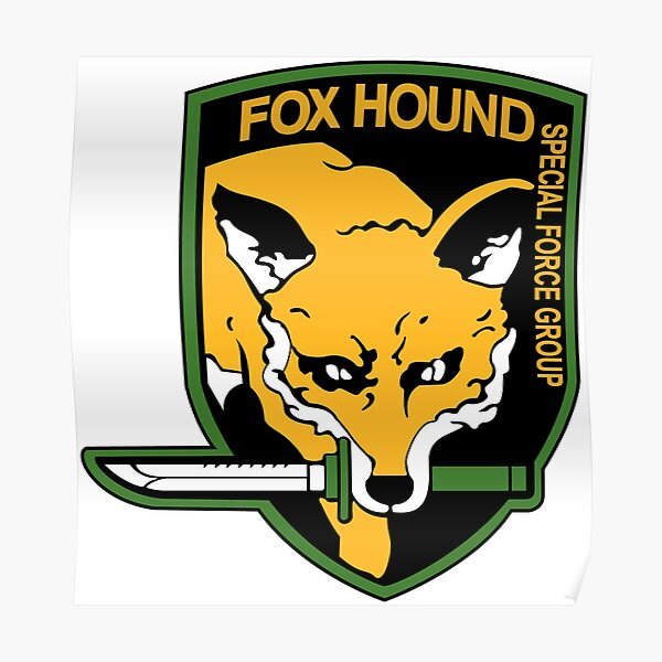 Metal Gear Solid - FOXHOUND Poster