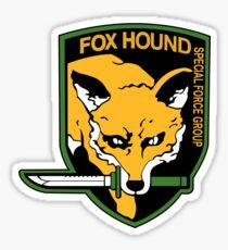 Metal Gear Solid - FOXHOUND Sticker