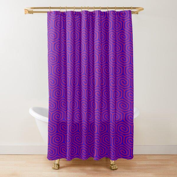 Circle, 2D shape Shower Curtain