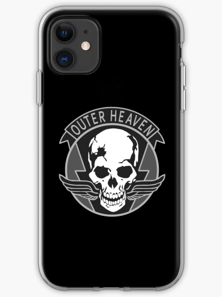 OUTER HEAVEN WHITE iphone case