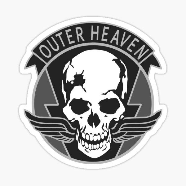 Metal Gear Solid - Outer Heaven Sticker