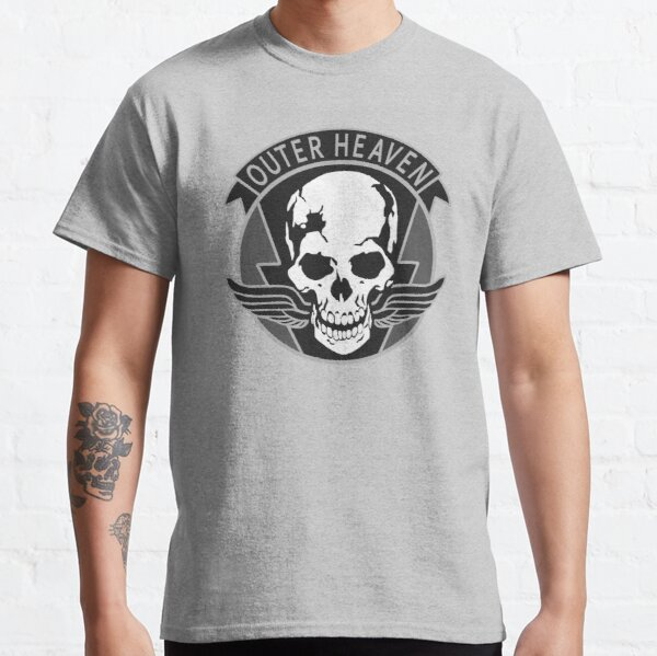 Metal Gear Solid - Outer Heaven Camiseta clásica