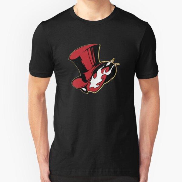 PERSONA 5 Color Logo Slim Fit T-Shirt