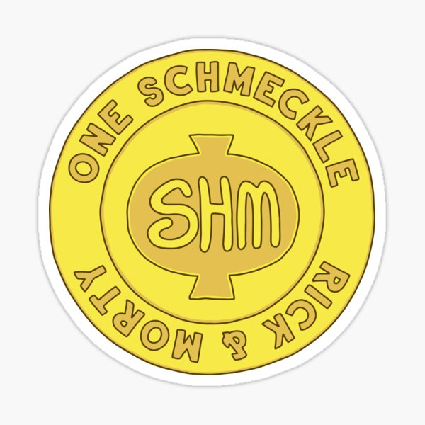 One Schmeckle Coin - Rick and Morty Sticker