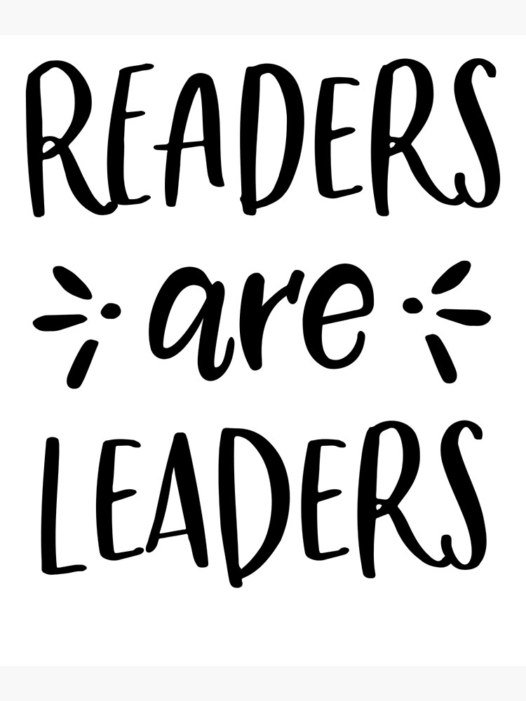 """Readers are Leaders """" Greeting Card by Girlscollar 